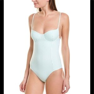 Onia Isabella Underwire One-Piece Swimsuit Small